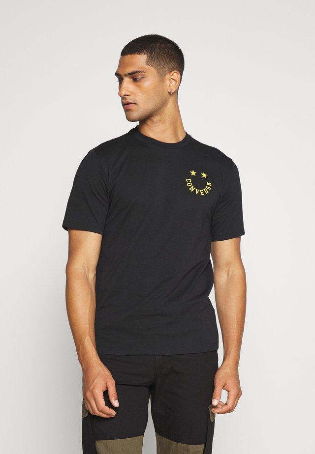 TEE - Camiseta estampada - converse black