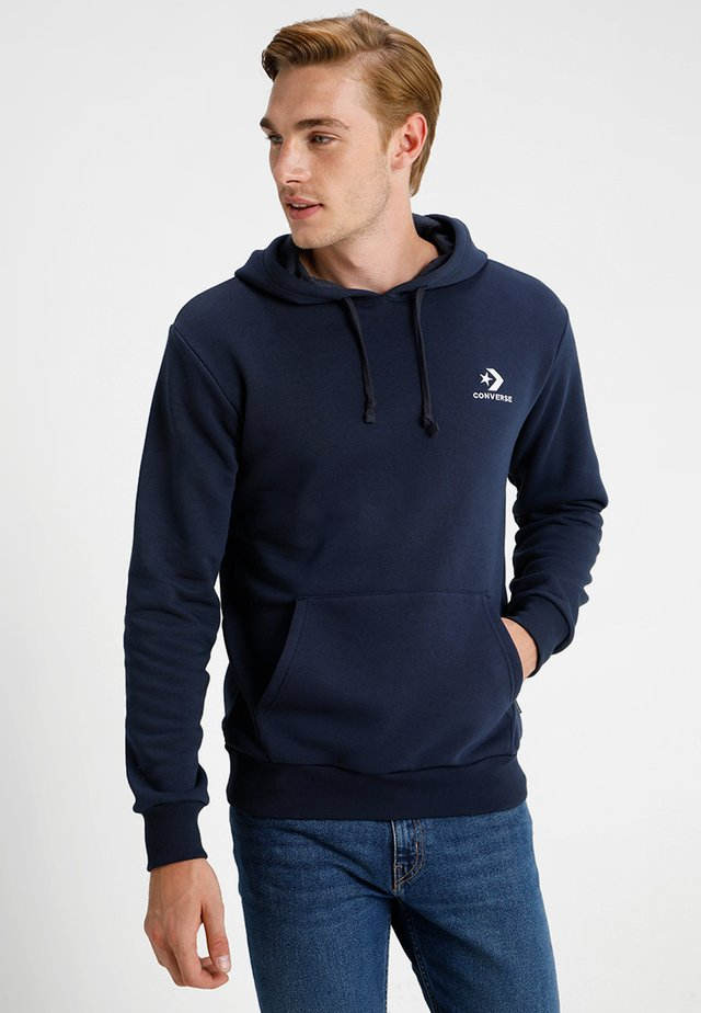 STAR CHEVRON HOODIE - Jersey con capucha - obsidian