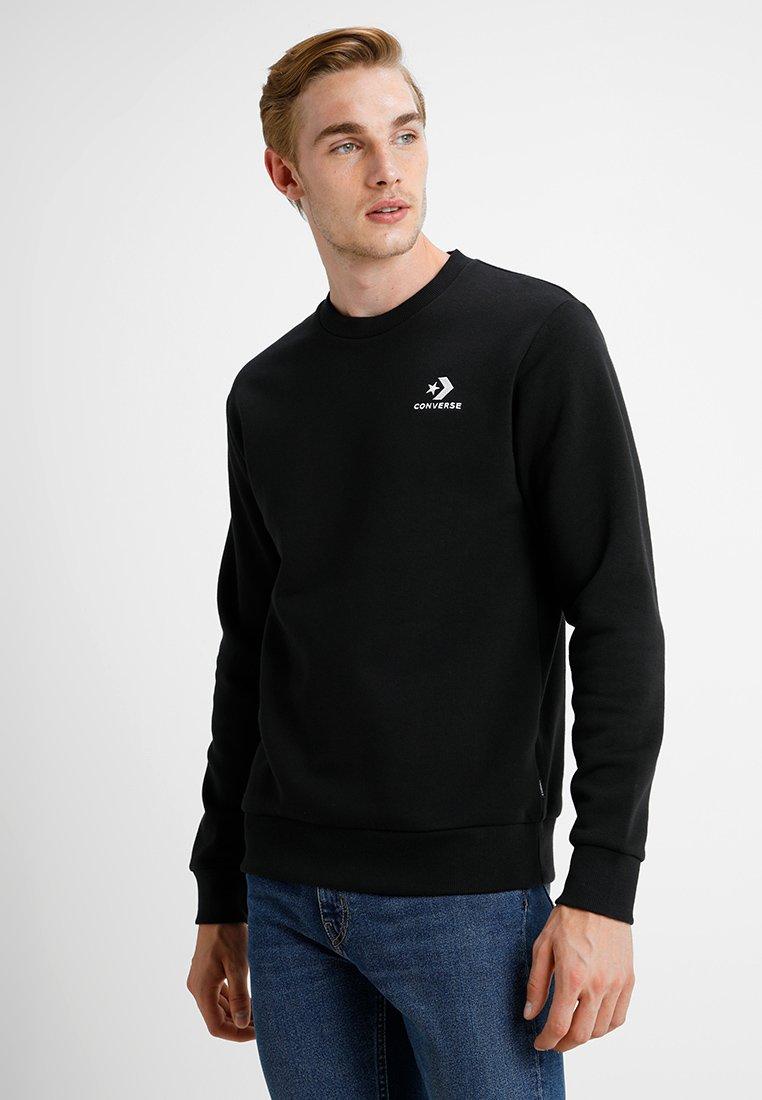 Converse - STAR CHEVRON CREW - Sweatshirt - black