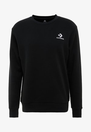 STAR CHEVRON CREW - Sweatshirt - black