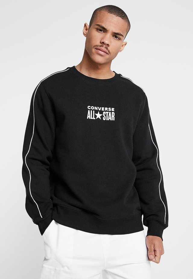 ALL STAR TRACK CREW - Sweatshirt - black