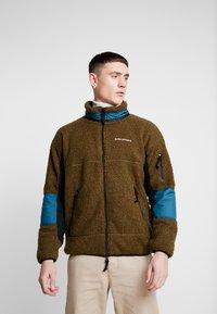 Converse - POLAR RIPSTOP JACKET - Summer jacket - surplus olive - 0
