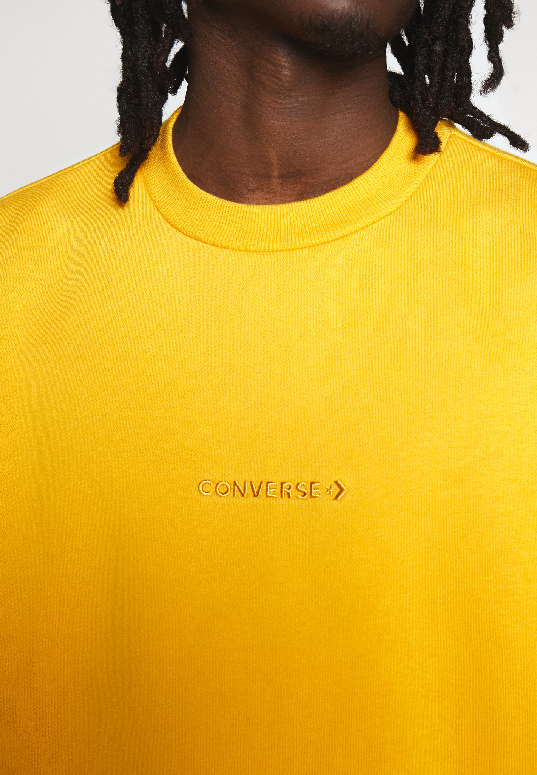 MOCK NECK CREW Sweatshirt sunflower gold