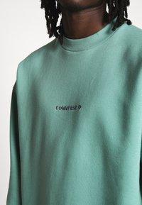 Converse - MOCK NECK CREW - Sweatshirt - mineral teal - 3