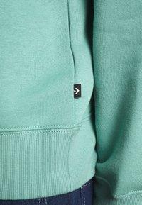 Converse - MOCK NECK CREW - Sweatshirt - mineral teal - 4