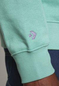 Converse - MOCK NECK CREW - Sweatshirt - mineral teal - 6