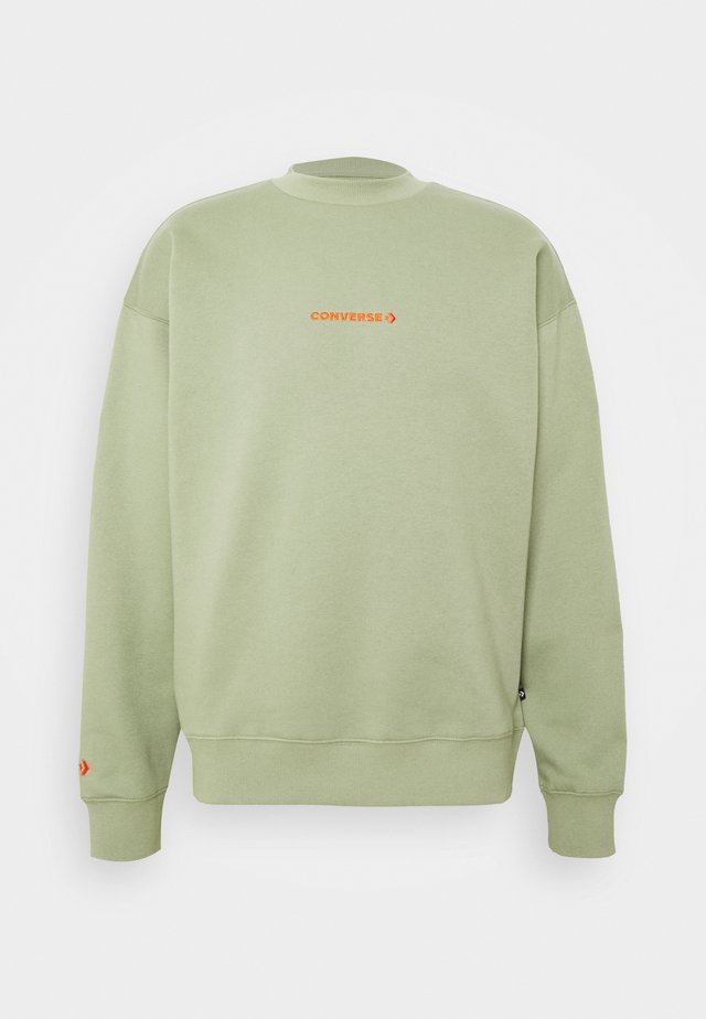MOCK NECK CREW - Sweater - street sage
