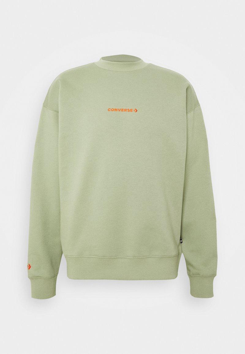 Converse - MOCK NECK CREW - Sweatshirt - street sage