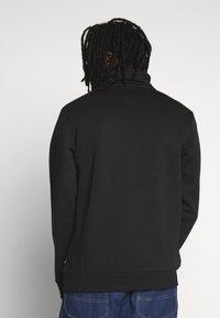 Converse - STAR CHEVRON EMBROIDERED HALF ZIP - Sweatshirt - black - 2