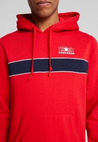 Converse - ALL STAR PULL OVER HOODIE - Luvtröja - university red - 5