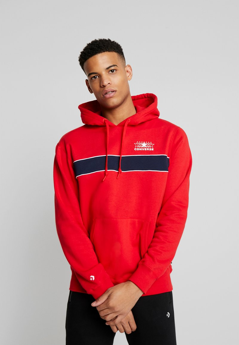 Converse - ALL STAR PULL OVER HOODIE - Luvtröja - university red