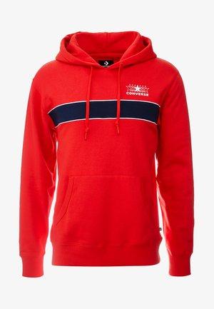 ALL STAR PULL OVER HOODIE - Bluza z kapturem - university red