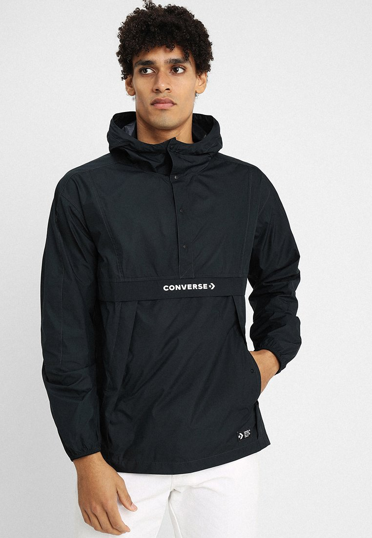 Converse - PACKABLE HOODED - Windbreaker - black