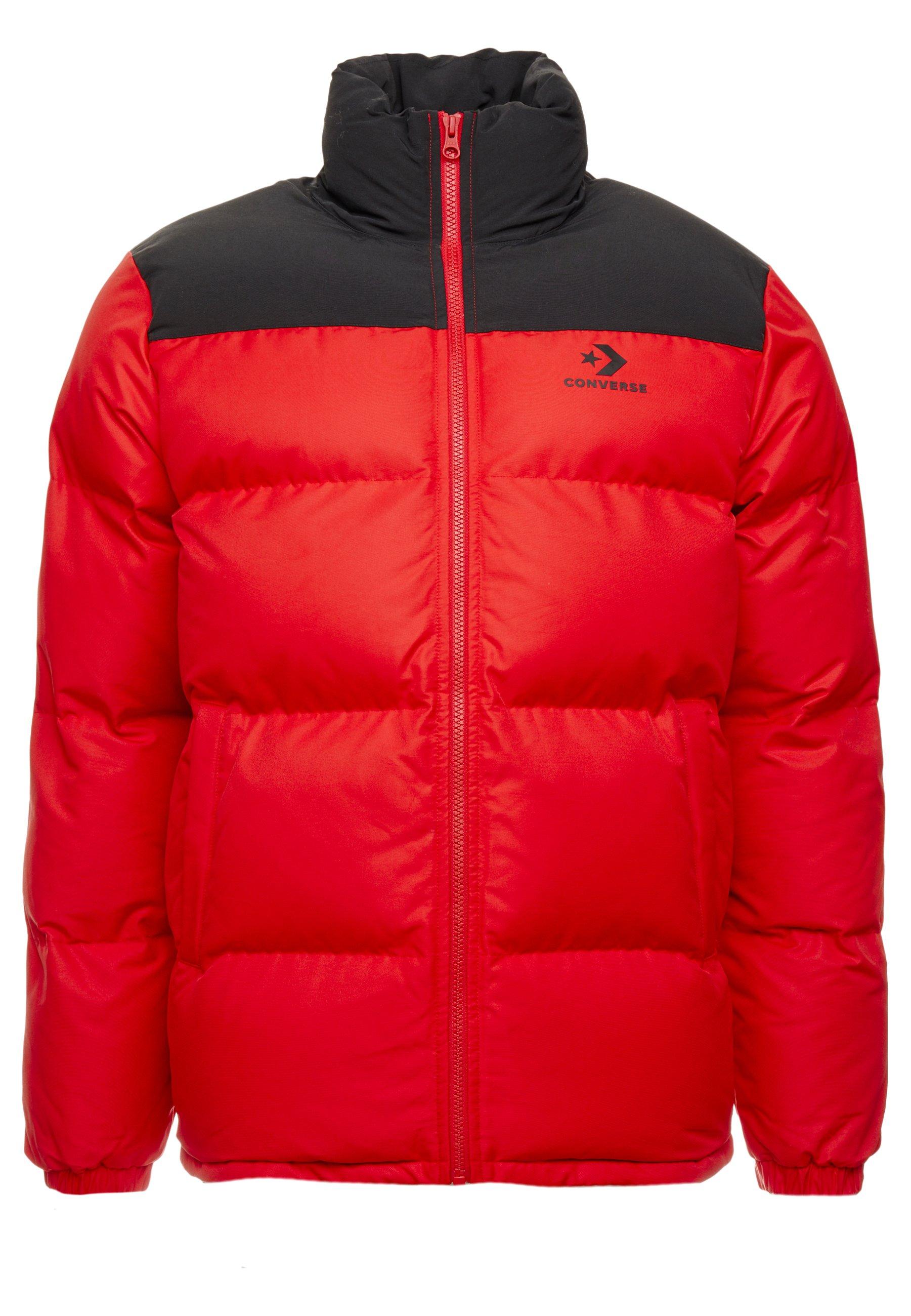 Converse Fill Puffer Jacket - Vinterjacka Enamel Red