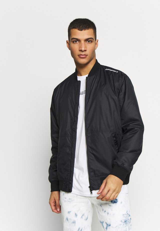 UTILITY BOMBER JACKET - Bomberjacks - black