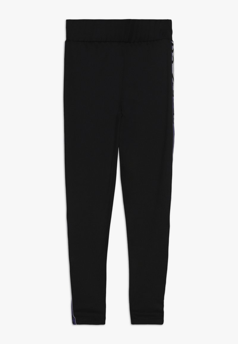 Converse - HIGH RISE WITH WORDMARK - Leggings - black