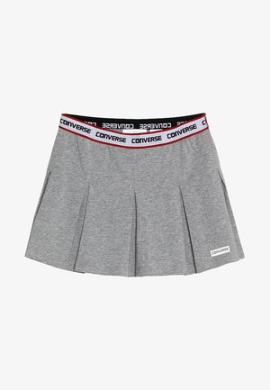 RETRO TENNIS SKIRT - Gonna a pieghe - dark grey heather