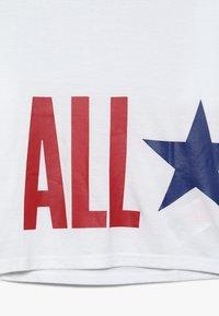 Converse - OVERSIZE ALL STAR - Top sdlouhým rukávem - white - 3