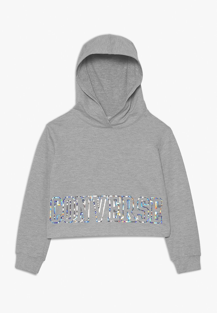 Converse - IRIDESCENT HOODIE - Hoodie - dark grey heather