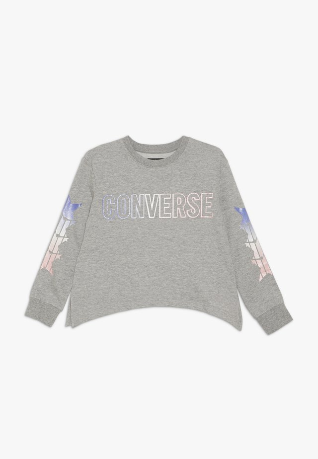 SHARK GRADIENT CREW - Sweater - dark grey heather