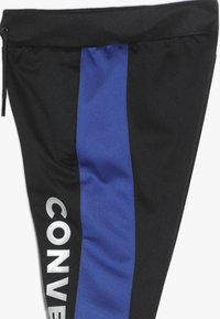 Converse - ASYMMETRICAL COLOURBLOCK PANT - Pantalon de survêtement - black - 2