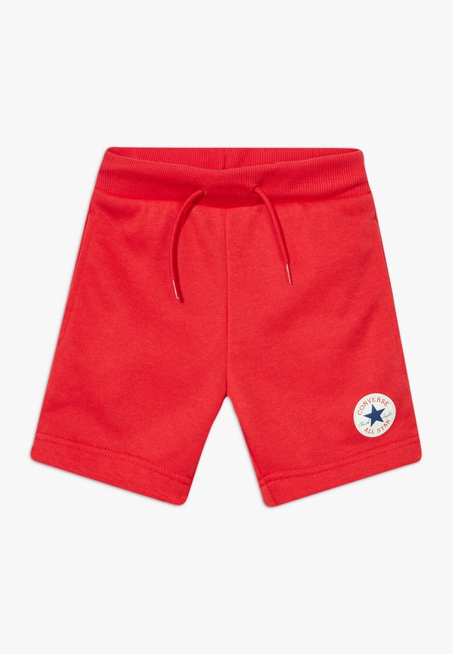 PRINTED CHUCK PATCH - Pantalones deportivos - university red