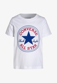 Converse - CHUCK PATCH - T-shirt print - white - 0