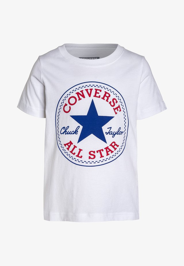 CHUCK PATCH - T-shirt med print - white