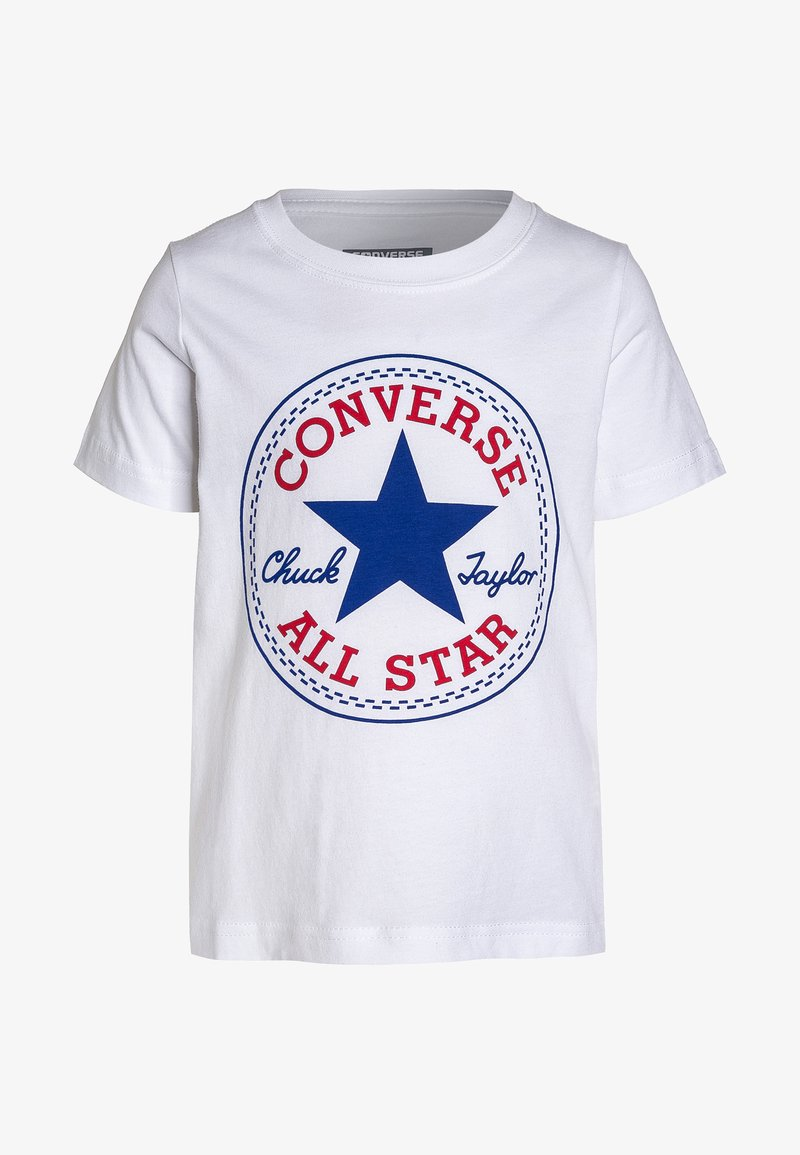 Converse - CHUCK PATCH - T-shirt print - white