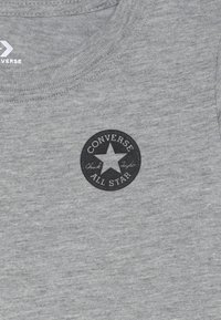Converse - CHUCK TAYLOR SCRIPT TEE - Long sleeved top - grey heather - 4