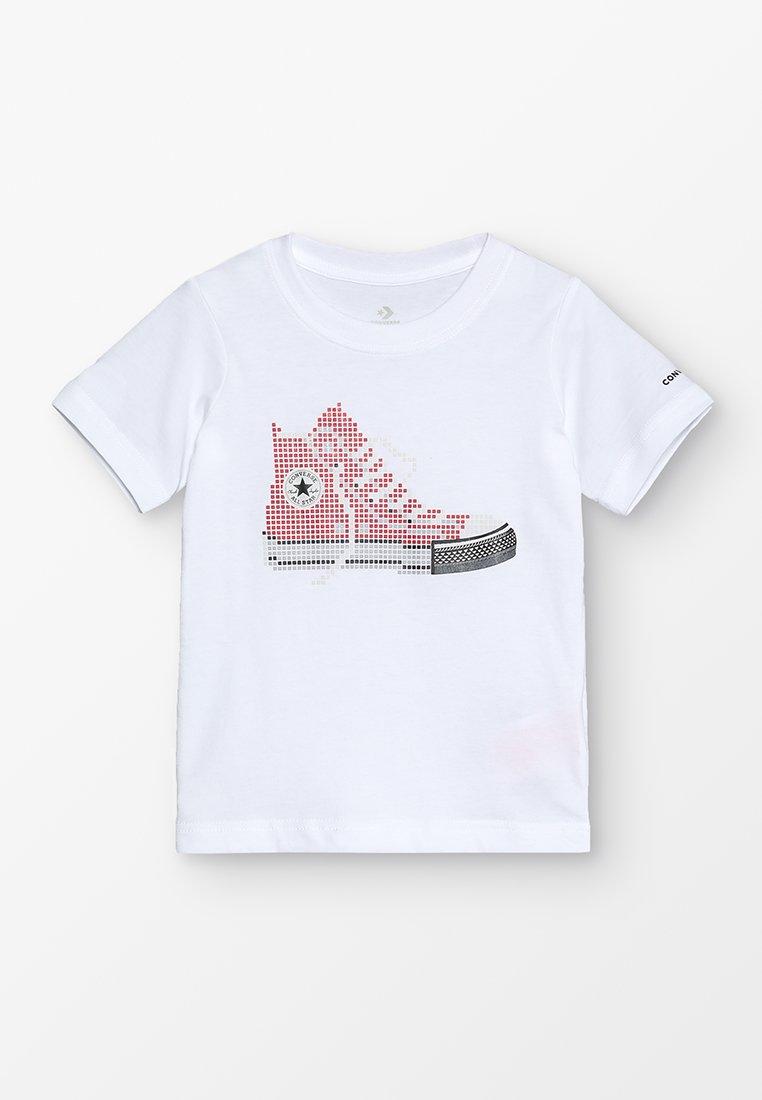 Converse - PIXEL CHUCK TEE - T-shirts print - white