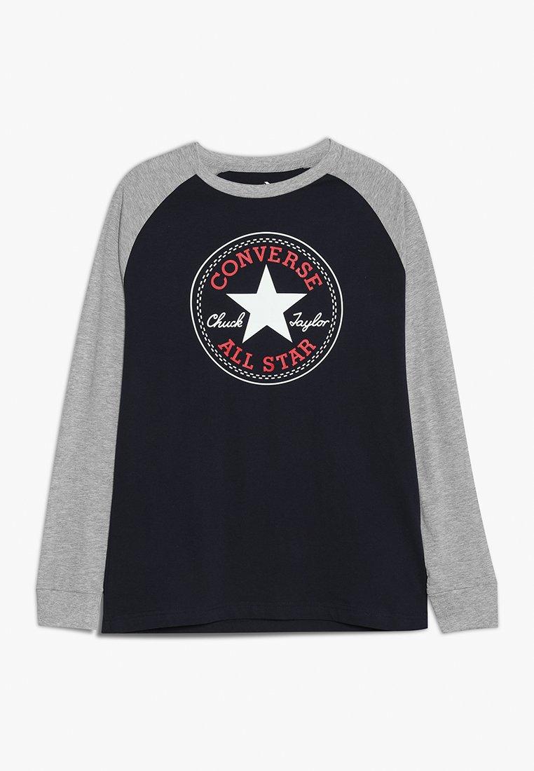 Converse - CHUCK PATCH RAGLAN  - Langærmede T-shirts - obsidian