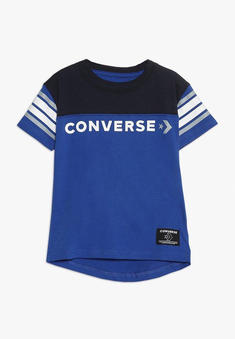 Converse - RETRO SPORT TEE  - T-shirts print - blue