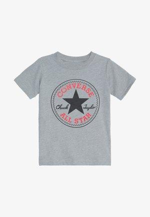 CORE CHUCK PATCH TEE  - Print T-shirt - dark grey heather