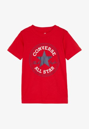 CORE CHUCK PATCH TEE  - T-shirt con stampa - university red