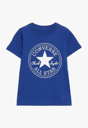 CORE CHUCK PATCH TEE  - T-shirt con stampa - blue