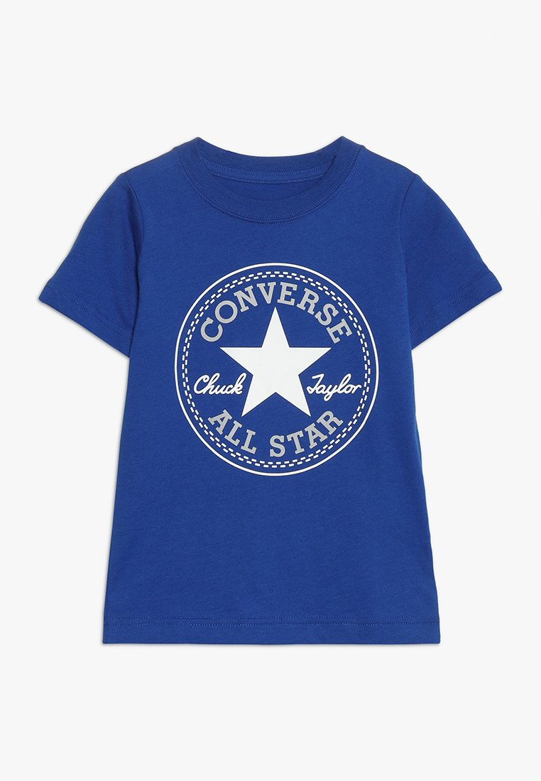 Converse - CORE CHUCK PATCH TEE  - T-shirts print - blue