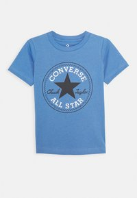 Converse - CORE CHUCK PATCH TEE  - T-shirts med print - coast - 0