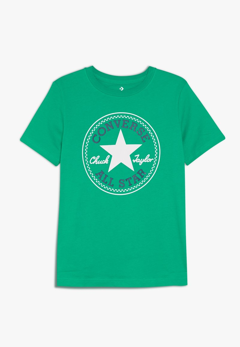 Converse - CORE CHUCK PATCH TEE  - T-Shirt print - bold jade