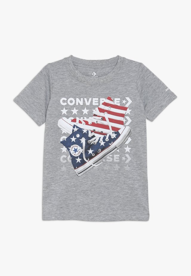 AMERICANA SHOES TEE - T-shirts med print - dark grey heather
