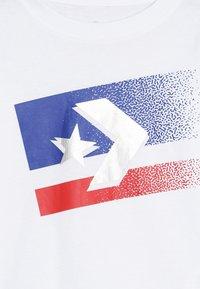 Converse - BITMAP STAR CHEVRON - Long sleeved top - white - 3