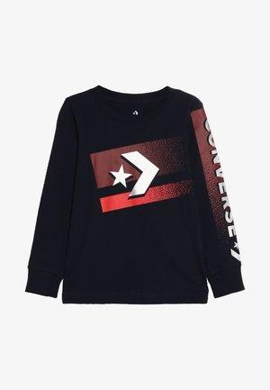 BITMAP STAR CHEVRON - Maglietta a manica lunga - obsidian
