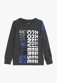 Converse - LOGO REMIX  - Långärmad tröja - charcoal grey heather - 0