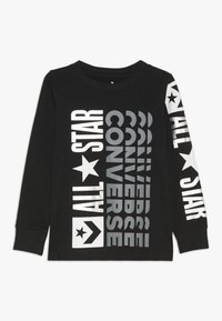 Converse - LOGO REMIX  - Long sleeved top - black - 0