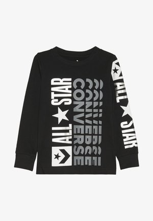 LOGO REMIX  - Long sleeved top - black