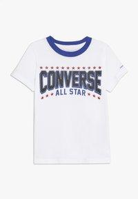 Converse - ALL STAR ARCH TEE - T-shirt imprimé - obsidian - 0