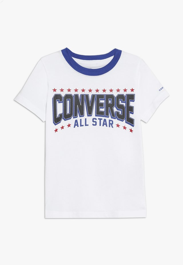 ALL STAR ARCH TEE - Print T-shirt - obsidian
