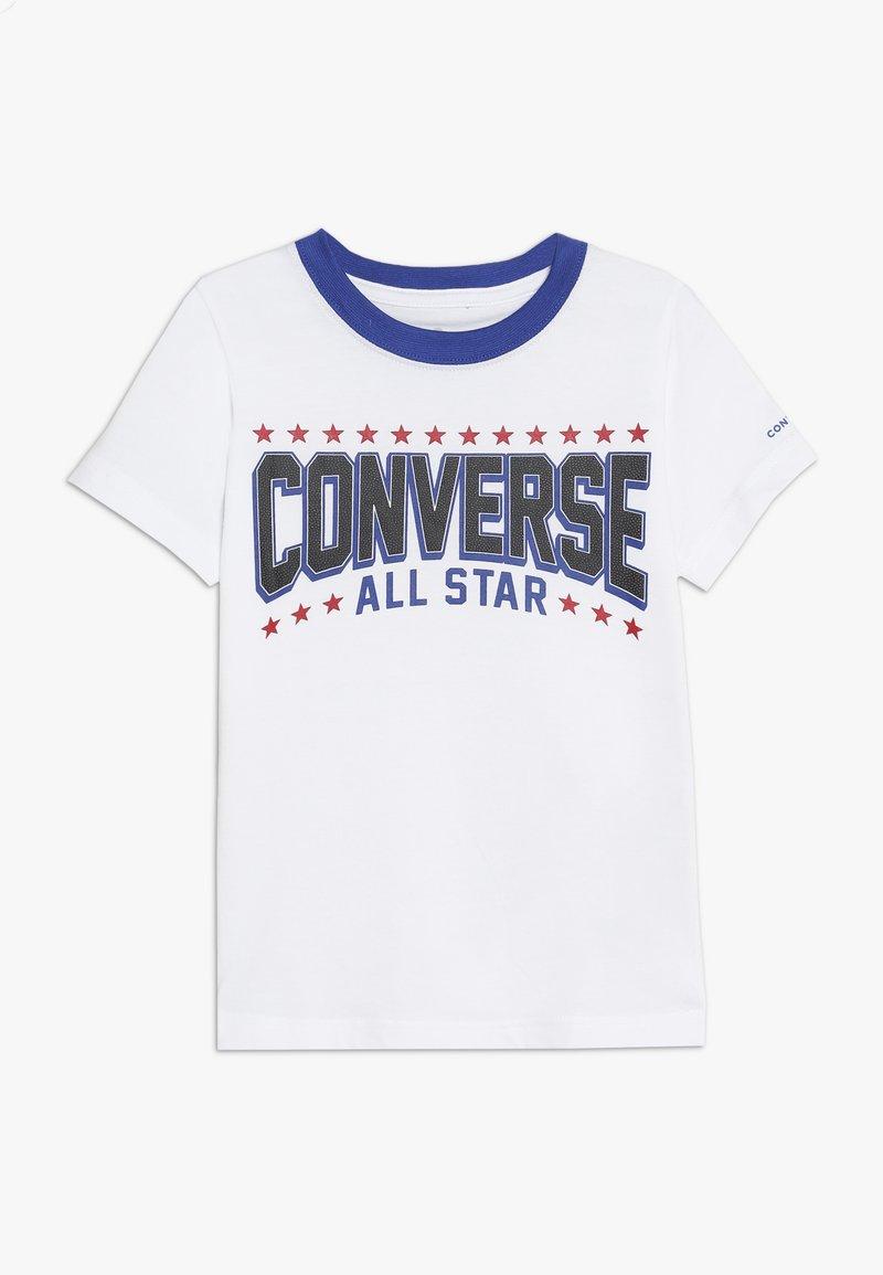 Converse - ALL STAR ARCH TEE - T-shirt imprimé - obsidian
