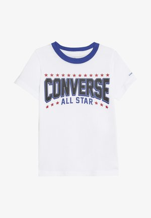 ALL STAR ARCH TEE - Camiseta estampada - obsidian