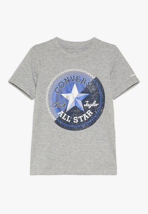 GALACTIC CHUCK PATCH TEE - T-shirts med print - dark grey heather